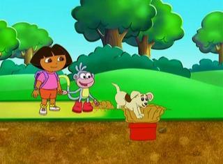 Даша путешественница: Сила щенков / Dora The Explorer: Puppy Power / 2007 / DVDRip