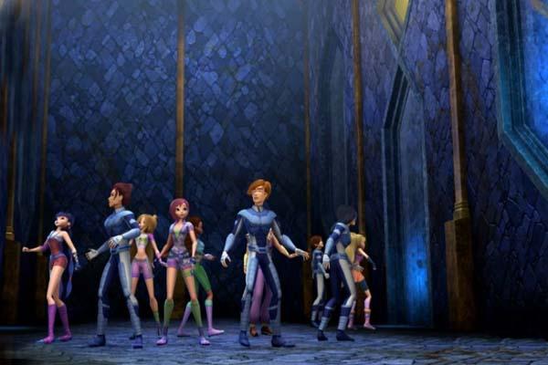 Волшебное приключение / Winx Club 3D: Magic Adventure (2010)