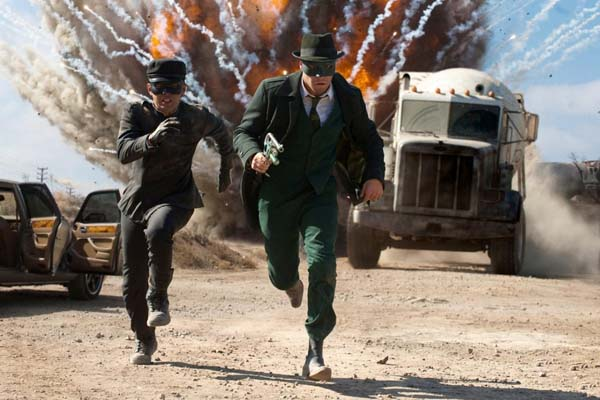 Зеленый Шершень / The Green Hornet (2011)