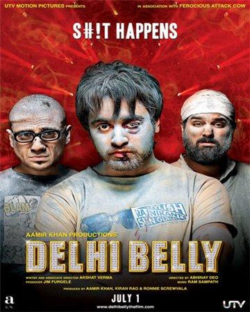 Прогулка по Дели / Delhi Belly (2011)