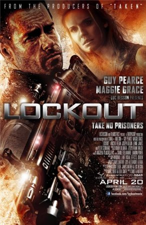 Напролом / Lockout [UNRATED] (2012)